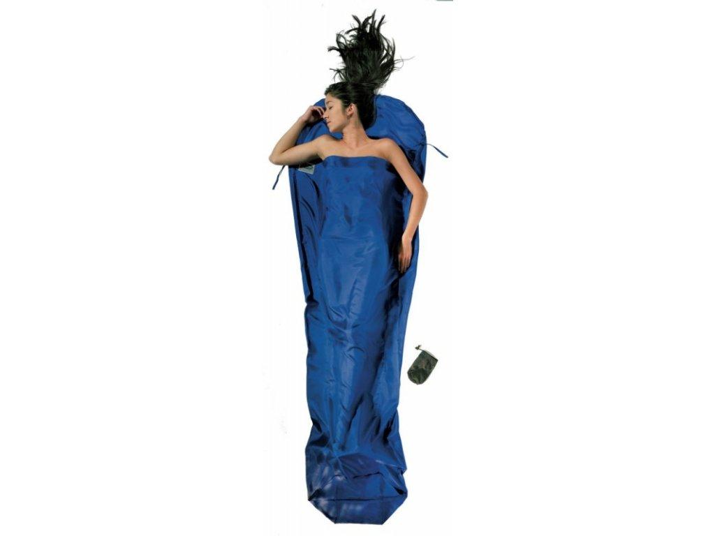 Cocoon spacáková přikrývka mumie ultramarine blue