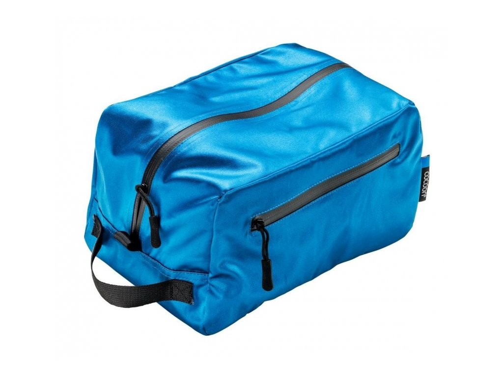 Cocoon toaletní taška Toiletry Kit Cube Silk blue lagoon