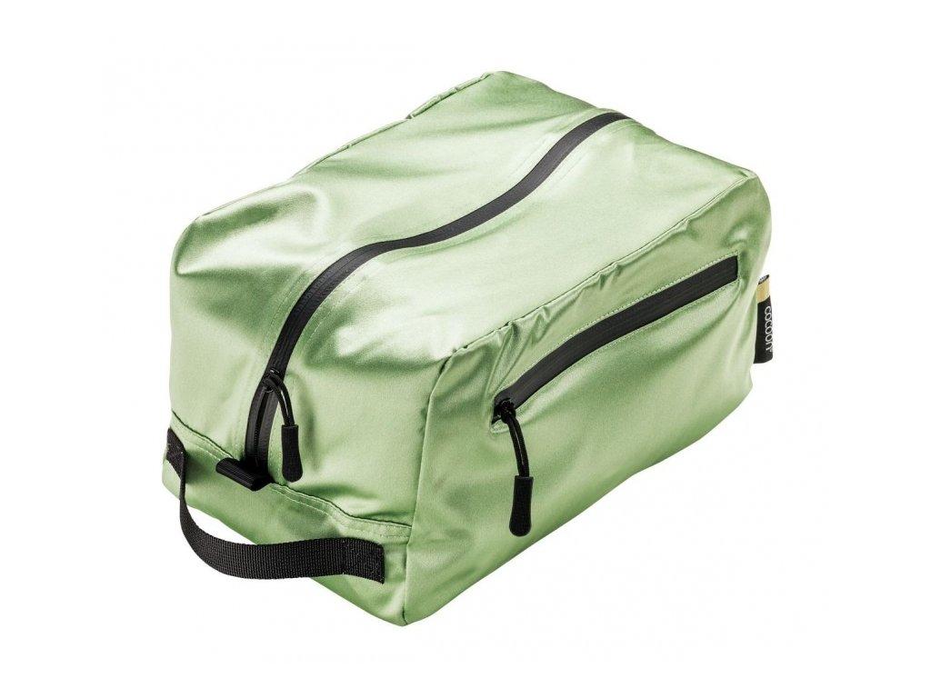 Cocoon toaletní taška Toiletry Kit Cube Silk light green