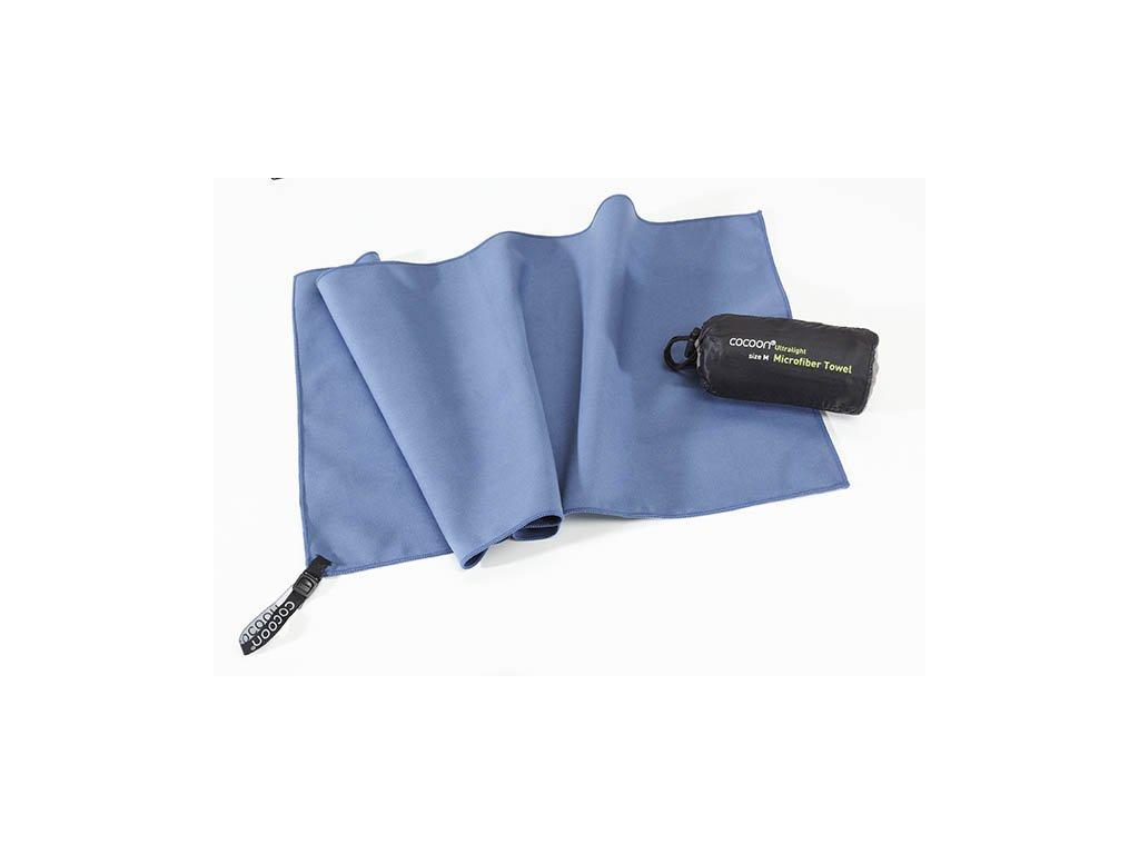 Cocoon ultralehký ručník L fjord blue