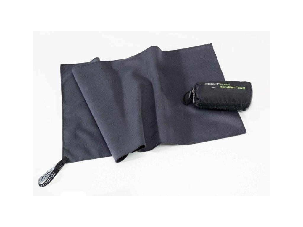 Cocoon ultralehký ručník L manatee grey
