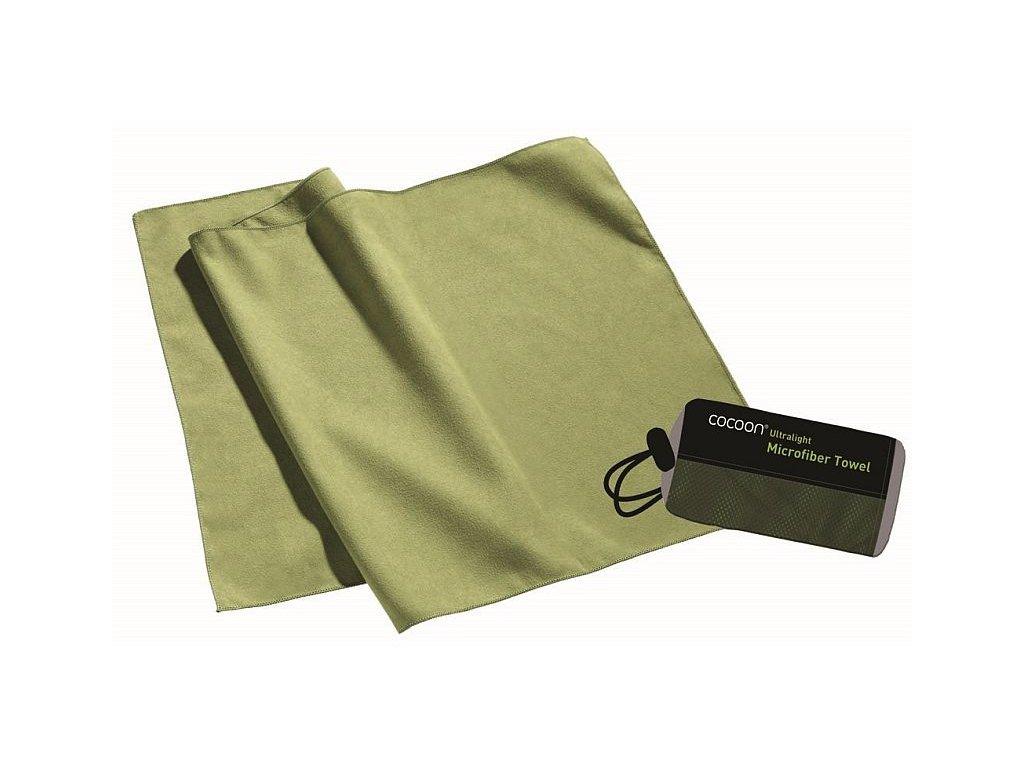 Cocoon ultralehký ručník L wasabi
