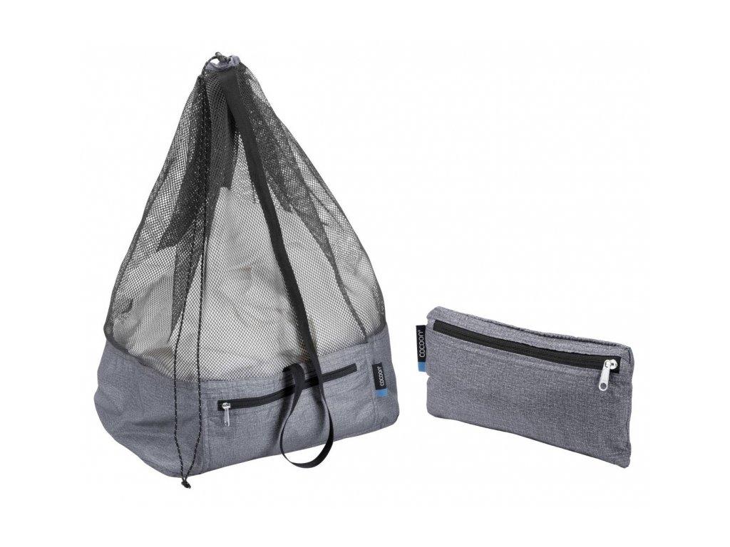 Cocoon vak Laundry Bag City heather grey