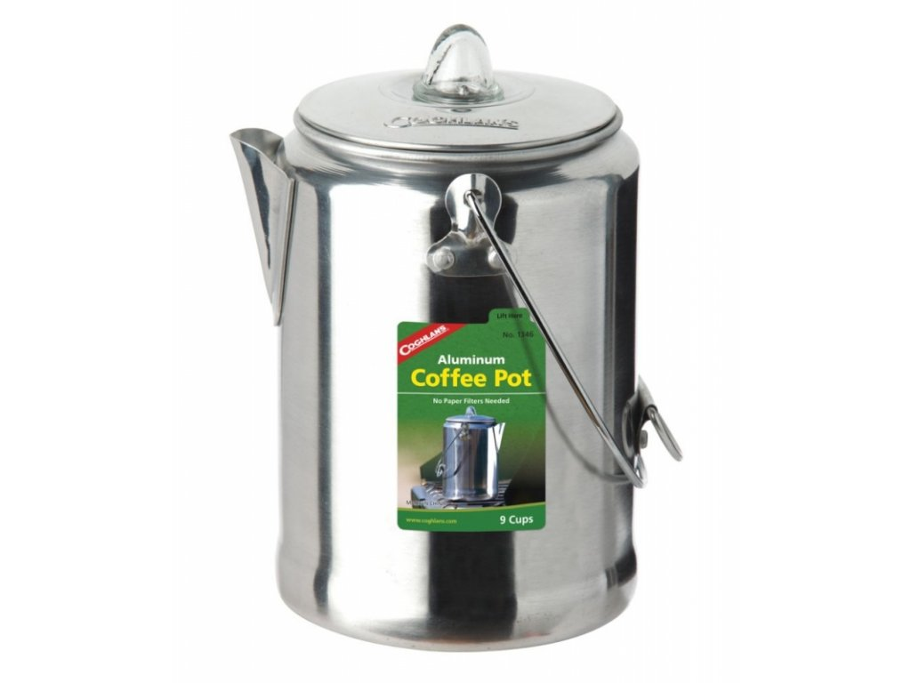 Coghlan´s kávovar Aluminium Coffee Pot