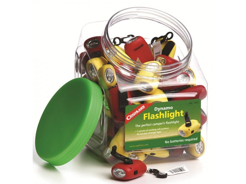 Coghlan´s přívěšek svítilna Dynamo Flashlight