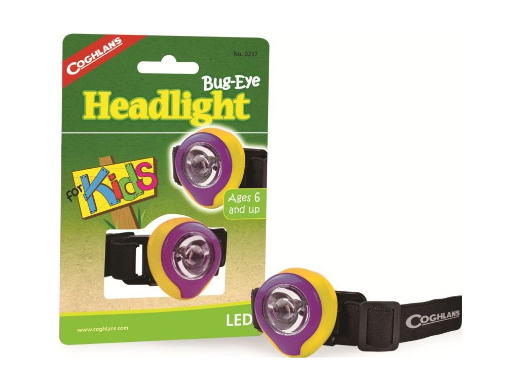 Coghlan´s dětská čelová svítilna Bug Eye Headlight