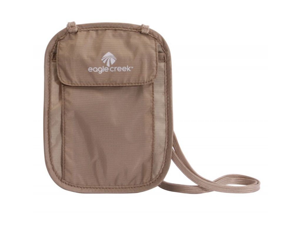 Eagle Creek kapsa na krk Undercover Neck Wallet khaki
