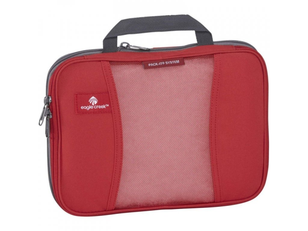Eagle Creek obal Pack-It Compression Cube red fire