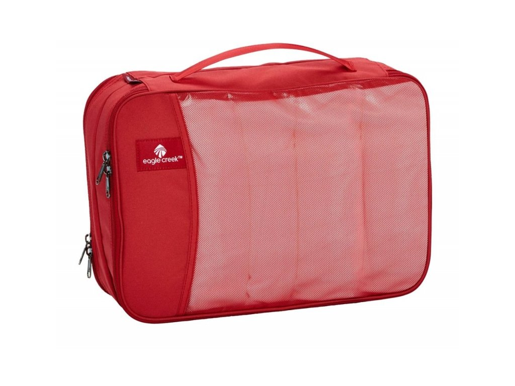 Eagle Creek organizér Pack-It Clean Dirty Cube red fire