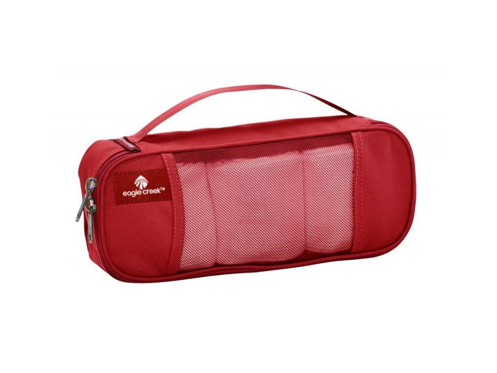 Eagle Creek organizér Pack-It Half Tube Cube red fire