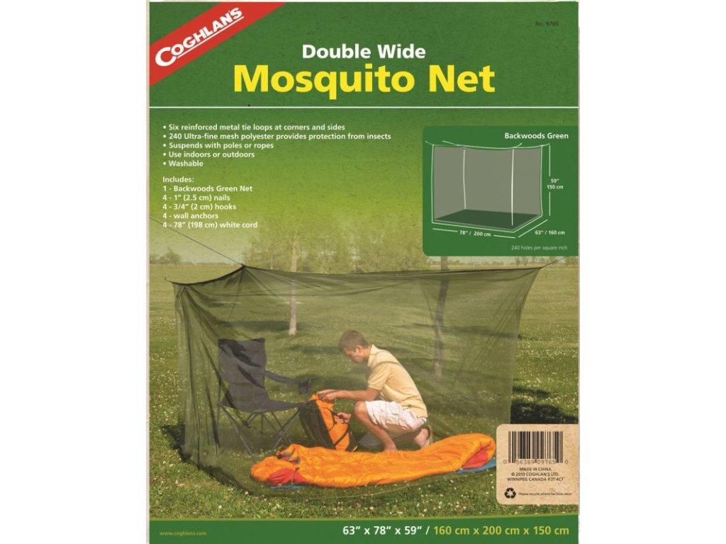 Coghlan´s moskytiéra na lůžka Mosquito Net Double