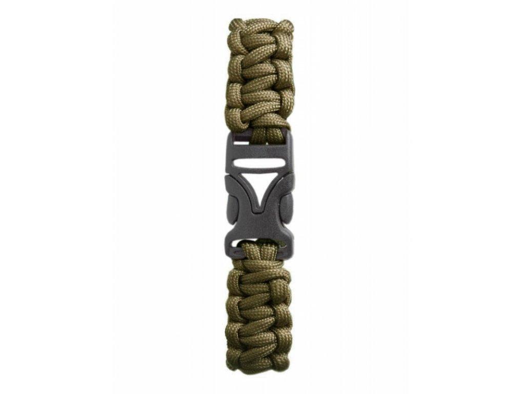 Coghlan´s náramek Paracord Bracelet olivový