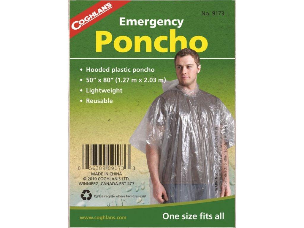 Coghlan´s nouzové pončo Emergency Poncho