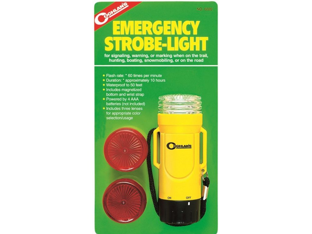 Coghlan´s nouzové signalizační světlo Emergency