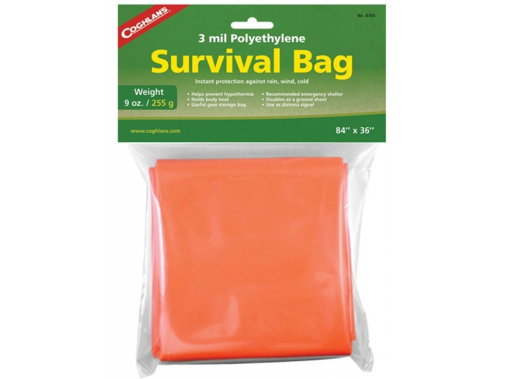 Coghlan´s nouzový vak Survival Bag