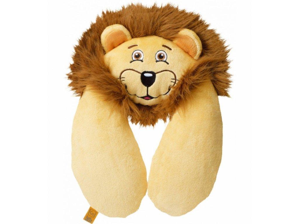 Go Travel dětský podhlavník Lion