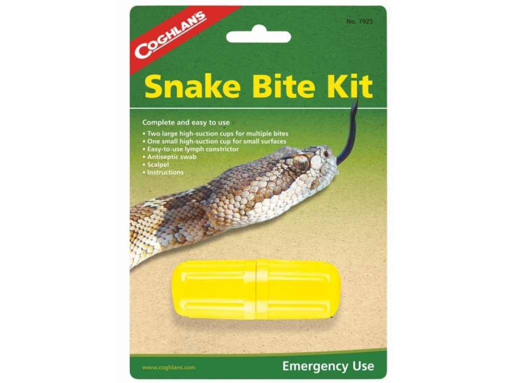 Coghlan´s sada na hadí uštknutí Snake Bite Kit
