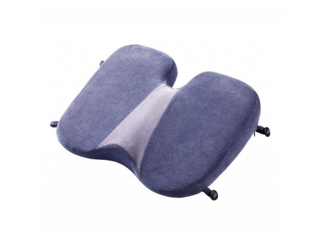 Go Travel podsedák Memory Foam Soft Seat violet