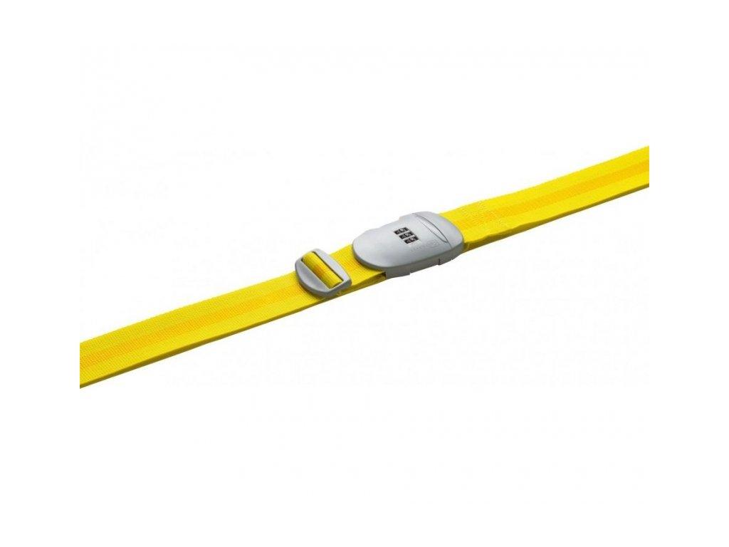 Go Travel popruh na zavazadla Combi Strap yellow