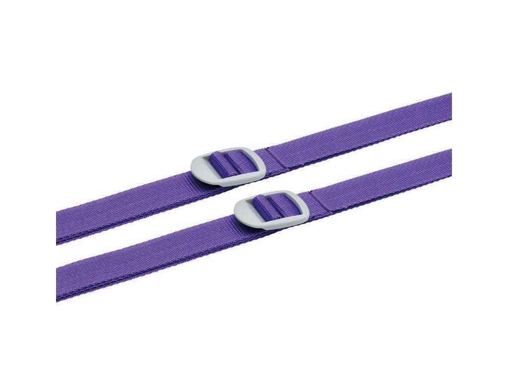 Go Travel sada popruhů na zavazadla 2,5 cm violet