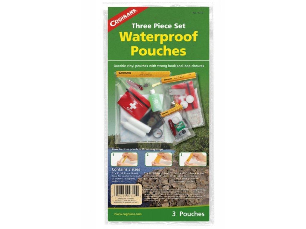 Coghlan´s sada vodotěsných pouzder Waterproof Pouch