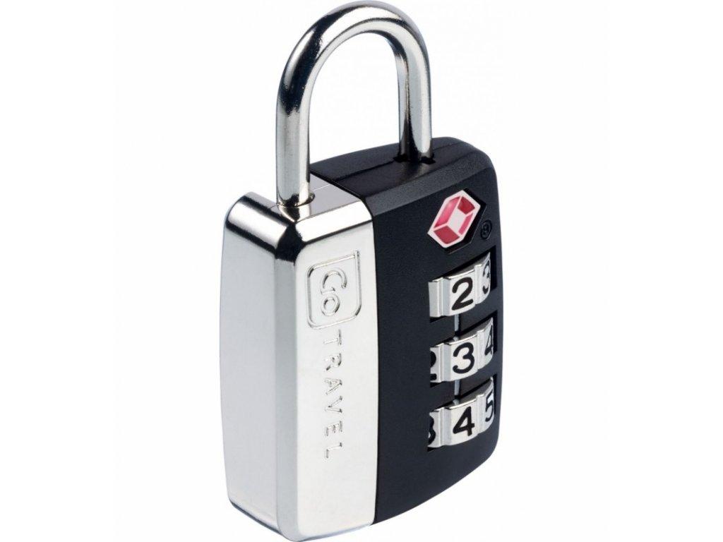 Go Travel zámek Big Wheel TSA Lock black