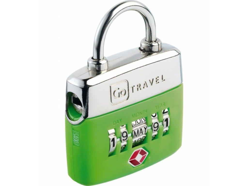 Go Travel zámek Birthday TSA Lock green