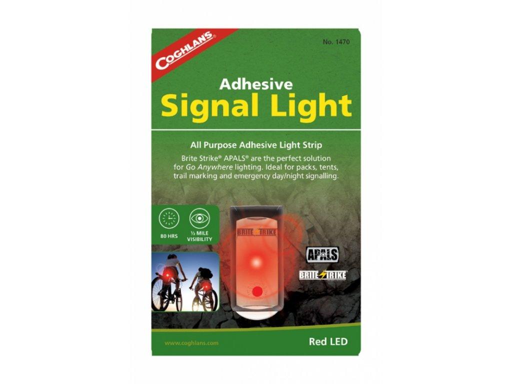 Coghlan´s signální světlo Adhesive Signal Light red