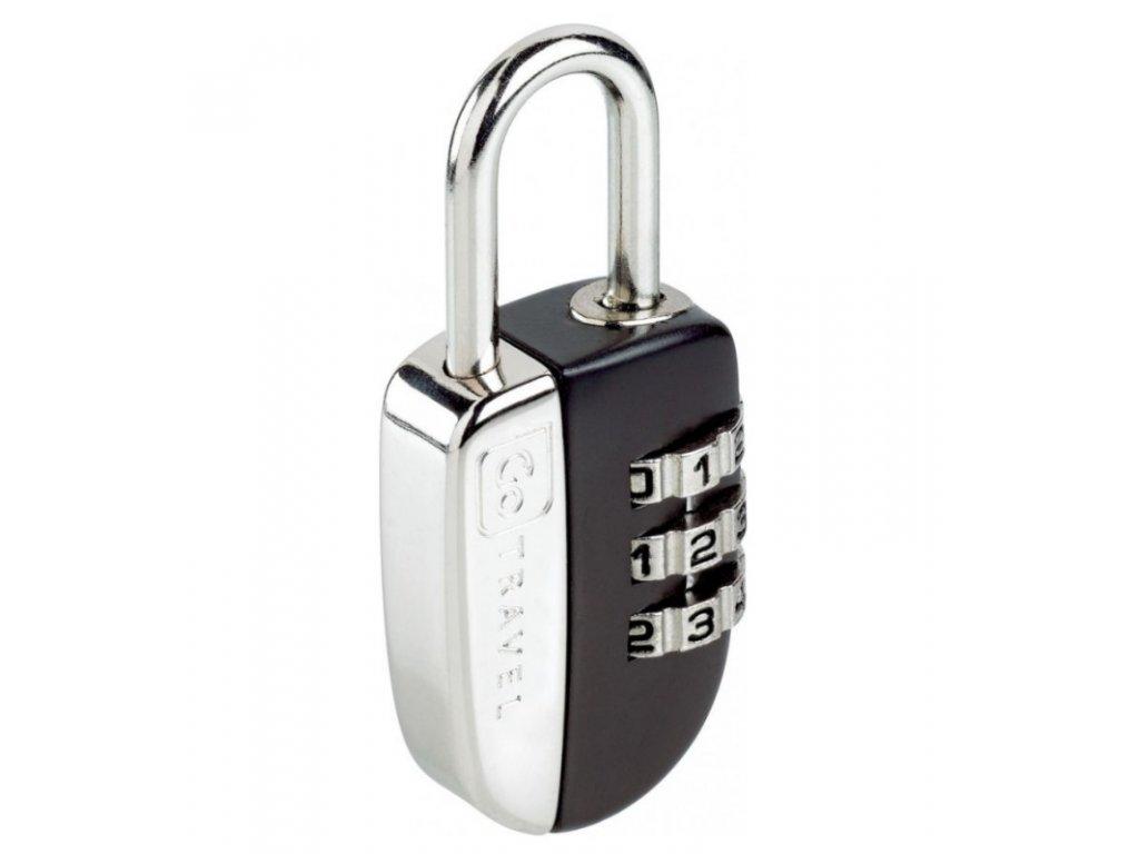 Go Travel zámek Secure Lock black
