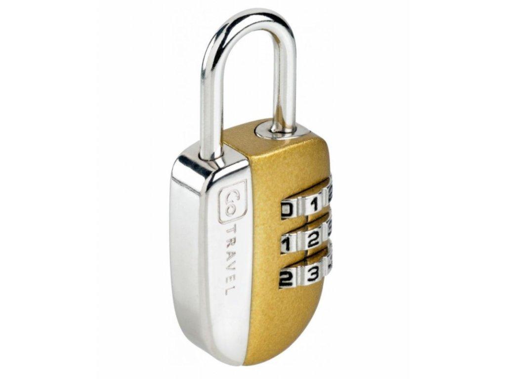 Go Travel zámek Secure Lock gold