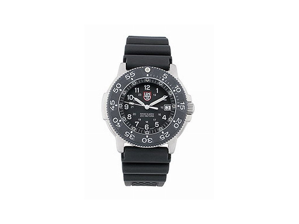 Luminox steel navy seal černý - bez baterie