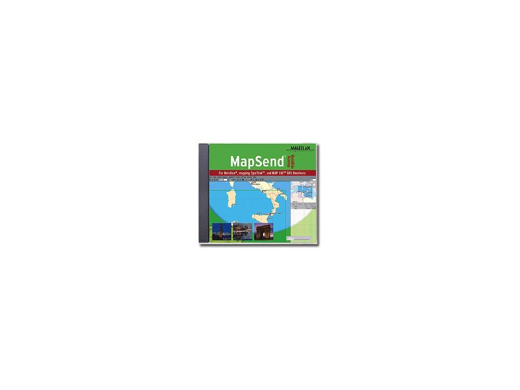 Magellan mapový software světa