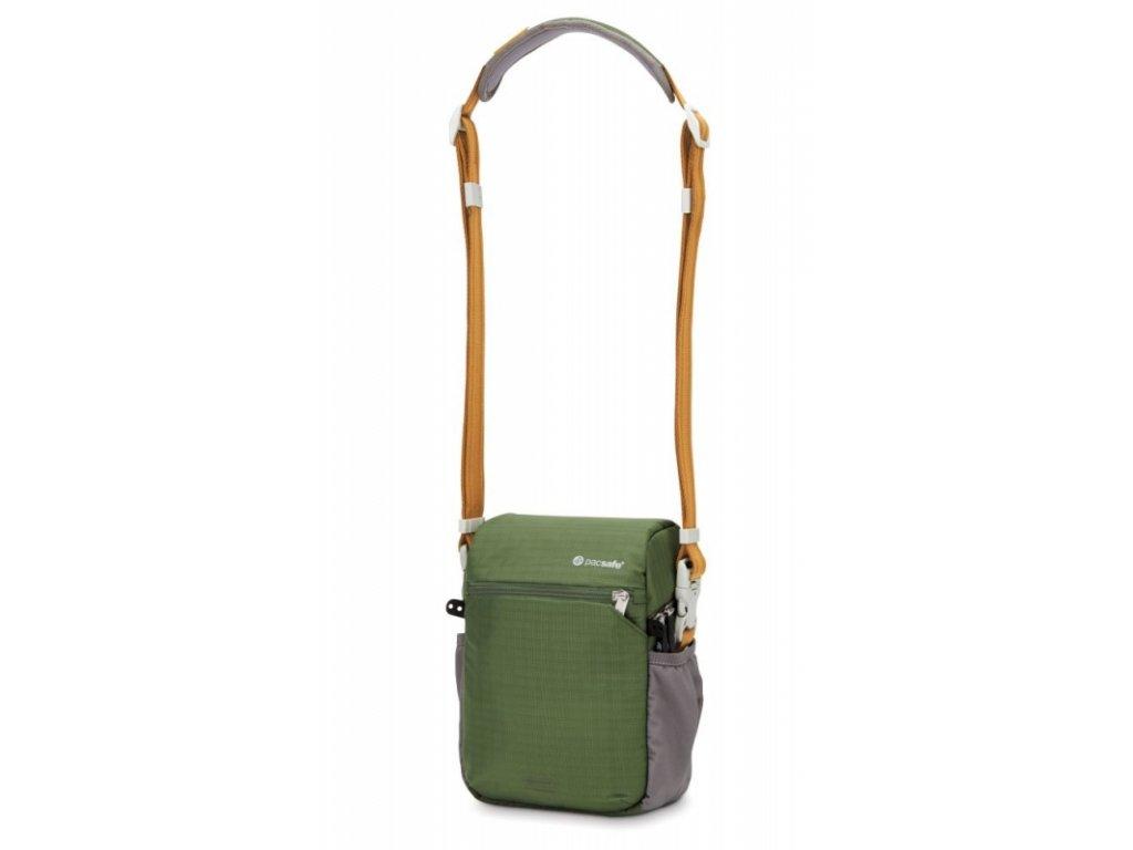 Pacsafe Camsafe V4 olive fotografická taška - výprodej