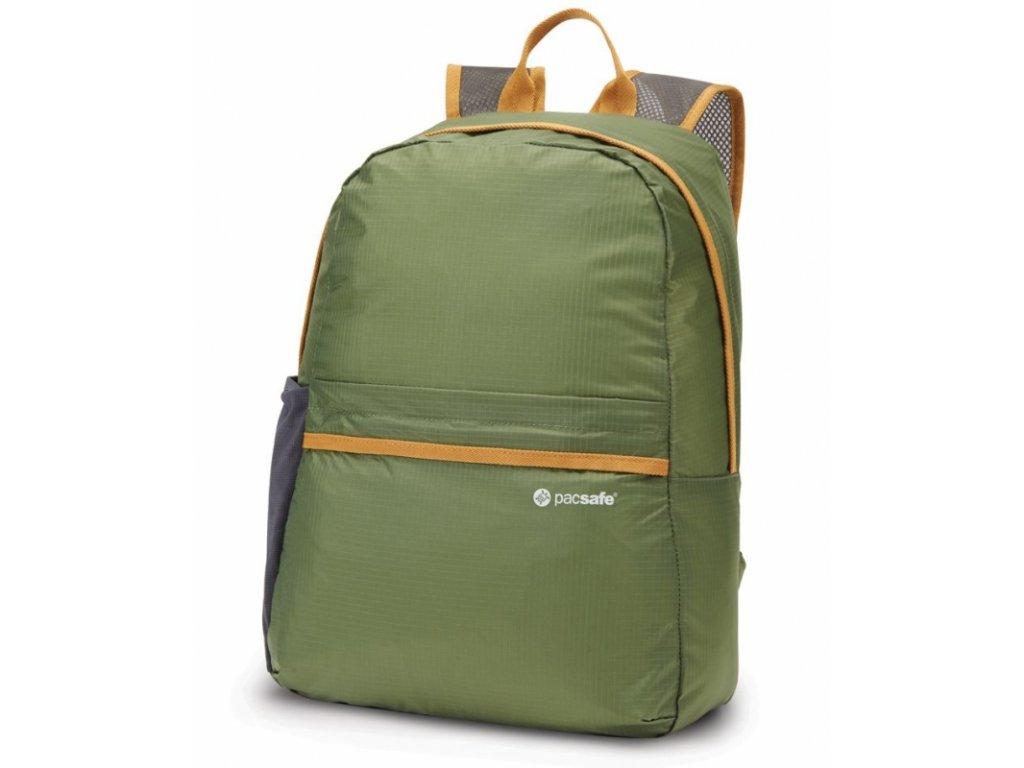 Pacsafe Pouchsafe PX15 olive skládací batoh - výprodej