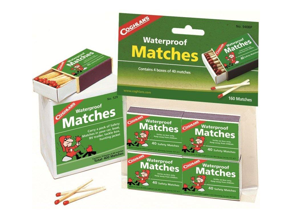 Coghlan´s voděodolné zápalky Waterproof Matches