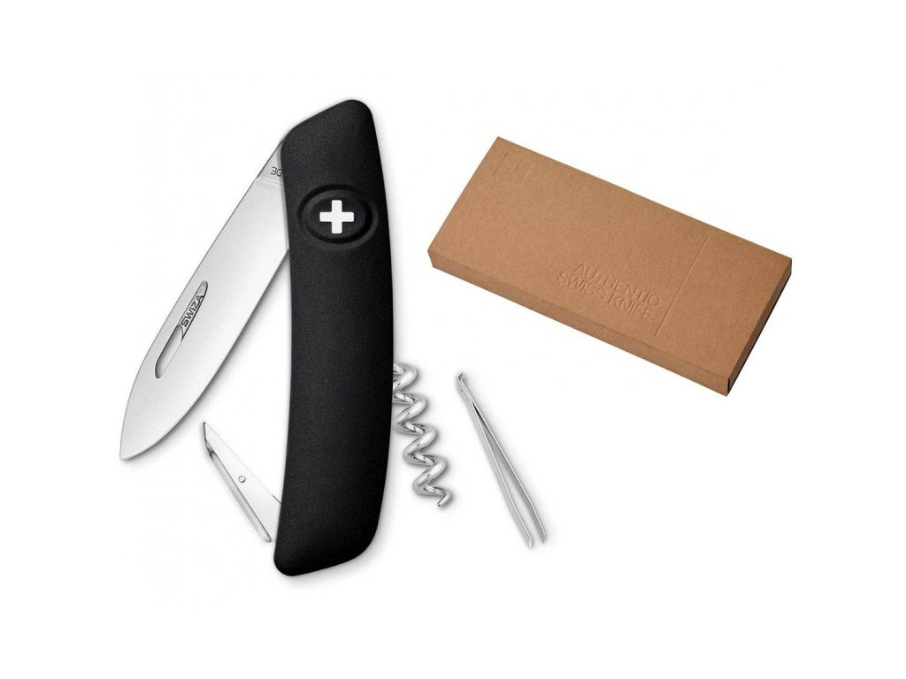 Swiza kapesní nůž D01 Standard black dárkové balení