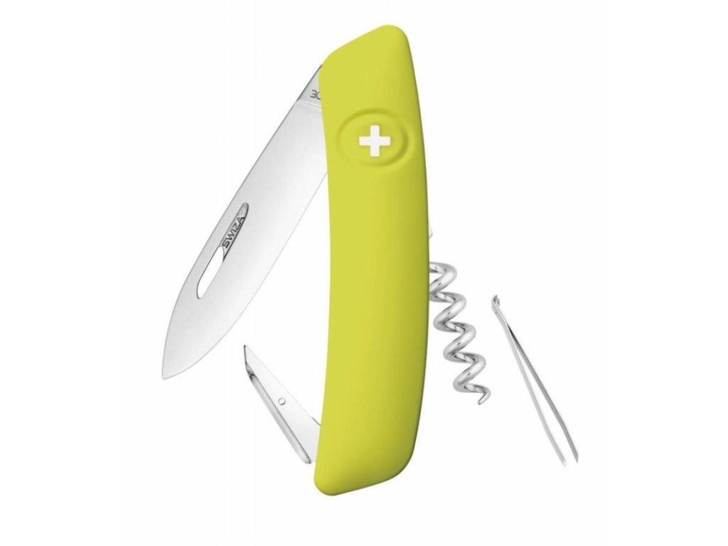 Swiza kapesní nůž D01 Standard moss