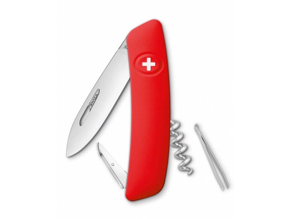 Swiza kapesní nůž D01 Standard red