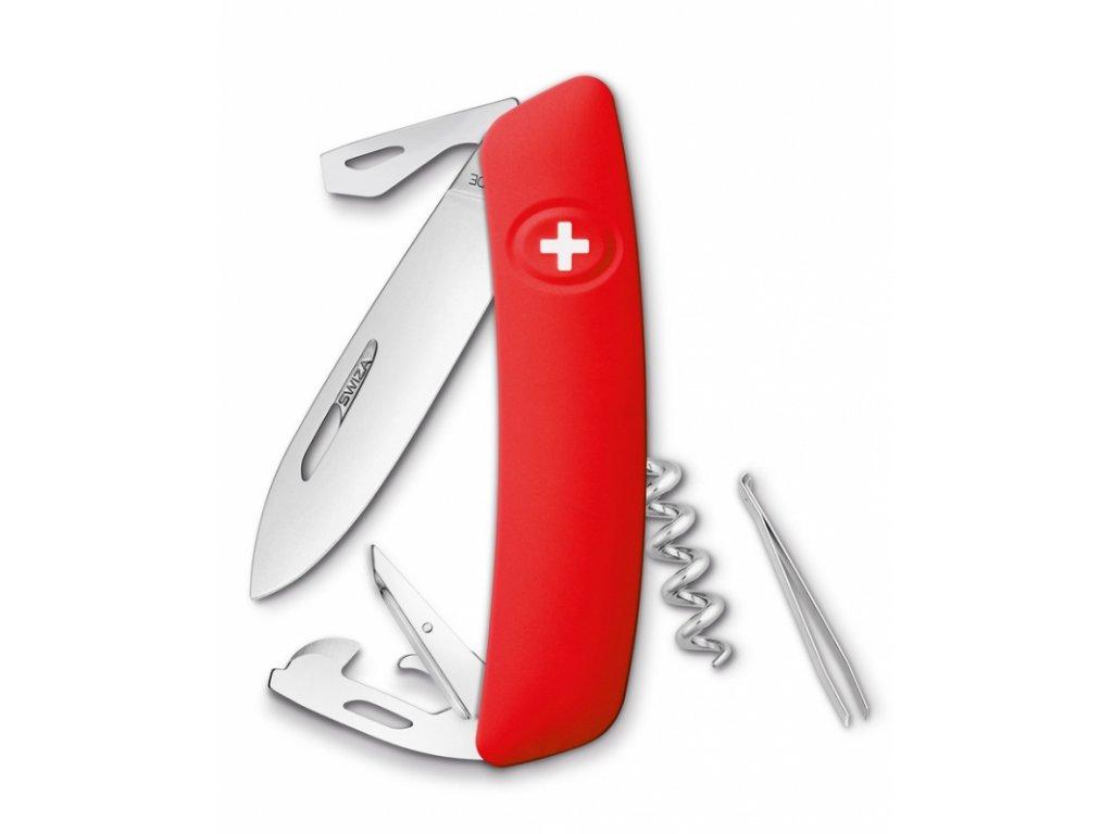 Swiza kapesní nůž D03 Standard red