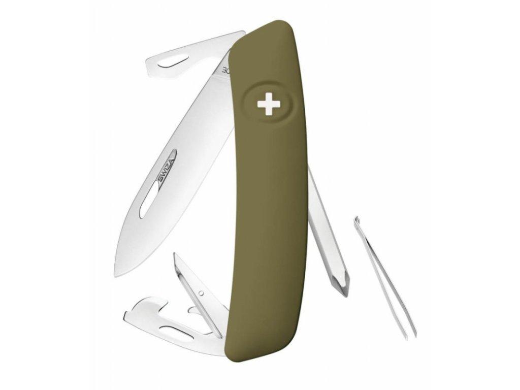 Swiza kapesní nůž D04 Standard olive