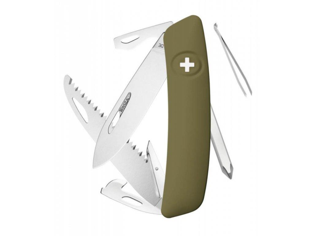 Swiza kapesní nůž D06 Standard olive
