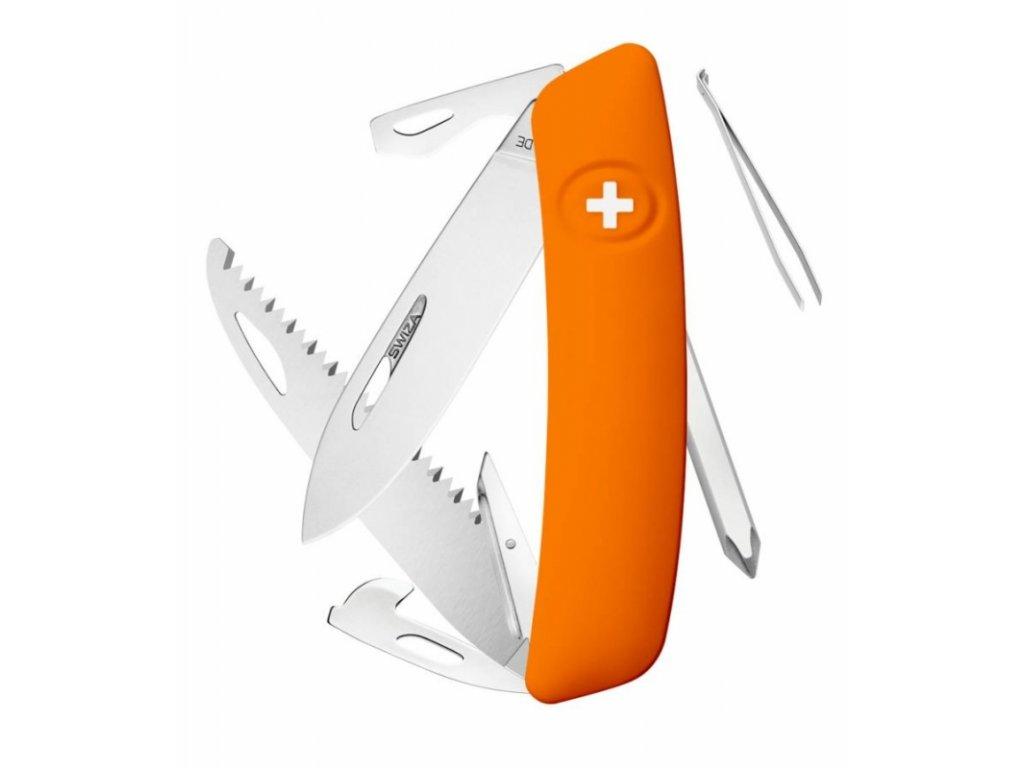 Swiza švýcarský kapesní nůž D06 orange