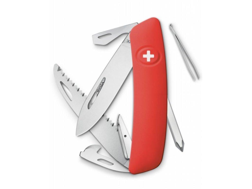 Swiza kapesní nůž D06 Standard red