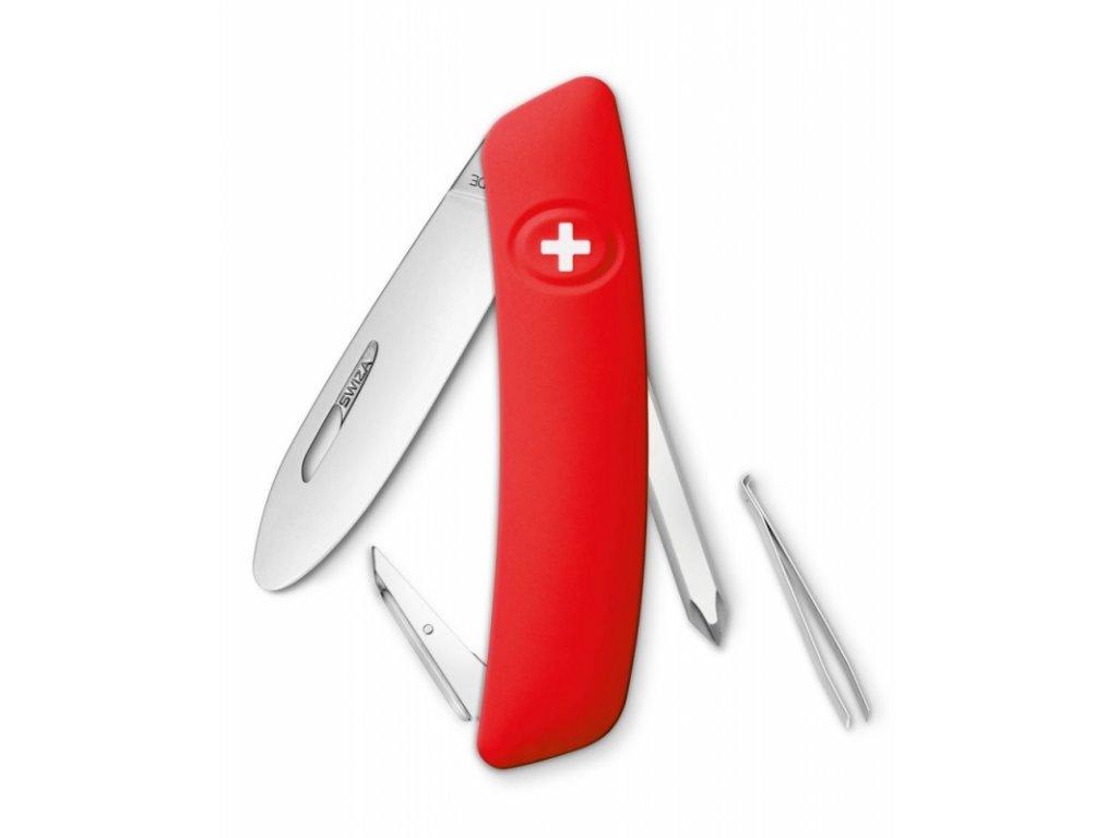 Swiza kapesní nůž Junior J06 R red