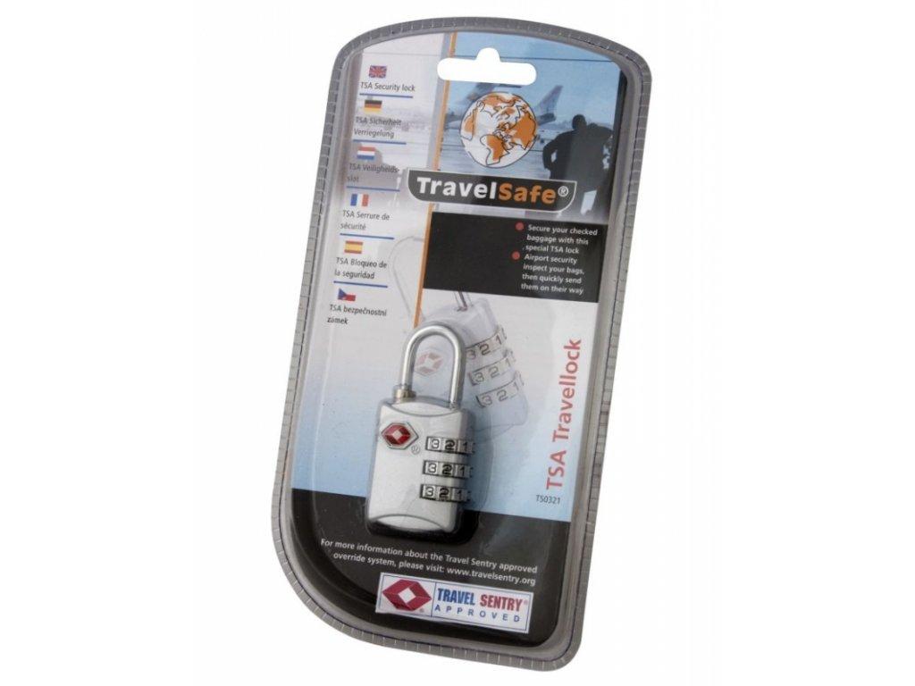 TravelSafe kombinační zámek TSA Travellock