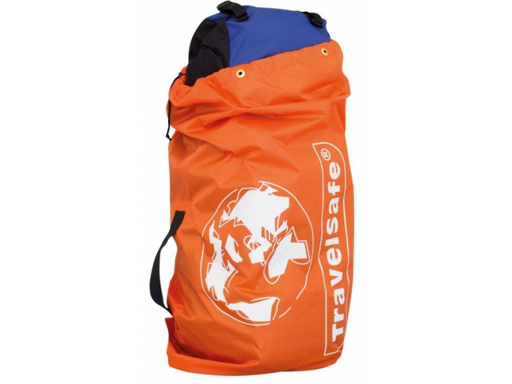 TravelSafe obal na zavazadla Flight Container oranžový
