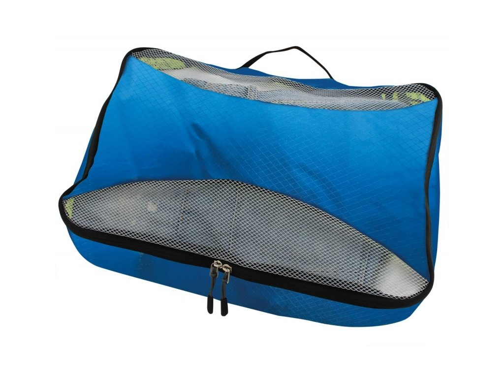 TravelSafe úložné obaly Luggage Cube set azure
