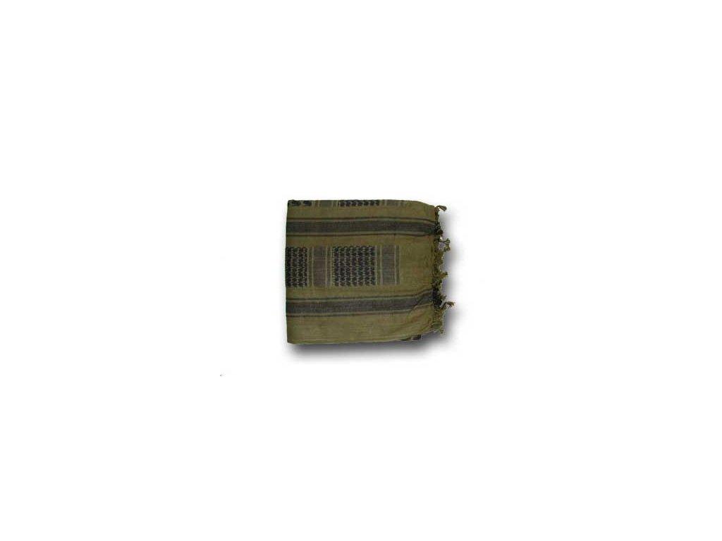 BCB Adventure univerzální šátek Shemag olivový