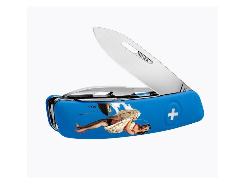 Swiza švýcarský kapesní nůž D03 Pin-Up Summer Edition 18