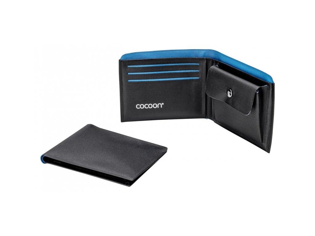 Cocoon peněženka Wallet Coin Pocket black/blue
